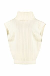 Jacquemus Aube Ribbed Knit Top