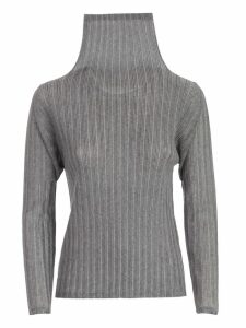 Pleats Please Issey Miyake Sweater L/s High Neck