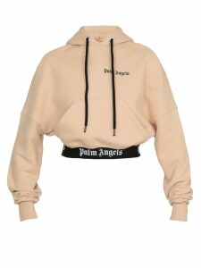 Palm Angels Cropped Sweatshirt