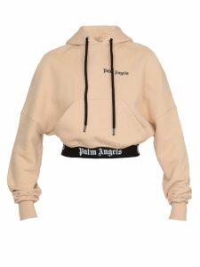 Palm Angels Cropped Sweatshirt