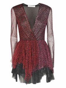 Philosophy di Lorenzo Serafini Pleated V-neck Dress