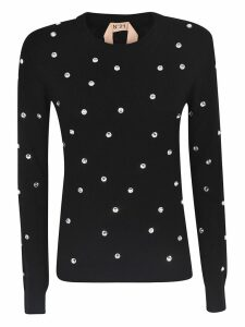 N.21 Embellished Sweatshirt