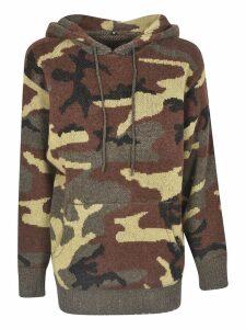 R13 Camo Hoodie Sweater