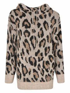 R13 Leopard Hoodie