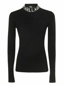 Karl Lagerfeld Collo Alto Logo Sweater