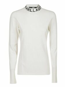 Karl Lagerfeld Collo Alto Logo Sweater