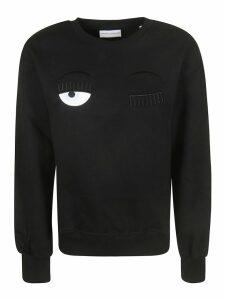Chiara Ferragni Flirty Knit Sweatshirt
