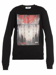 MSGM Flash Art Sweater