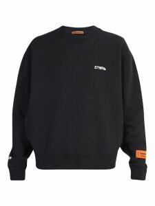 HERON PRESTON Embroidered Sweatshirt