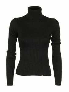 Elisabetta Franchi Celyn B. Black Tricot Top