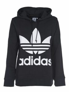Adidas Originals Black Hoodie With Logo
