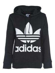 Adidas Originals Black Hoodie With Logo