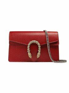 Gucci Dionysus leather super mini bag - Red