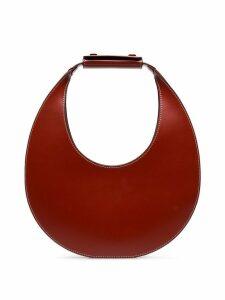 Staud Red Moon leather shoulder bag - Brown