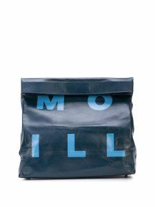 Simon Miller Large Lunch clutch - Blue