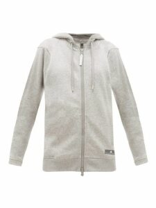 Adidas By Stella Mccartney - Performance Essentials Cotton Blend Sweatshirt - Womens - Grey