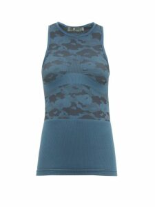 Adidas By Stella Mccartney - Performance Base Tank Top - Womens - Blue