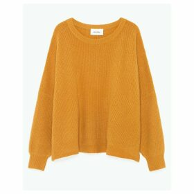 Wopy Fine Knit Jumper with Boat-Neck