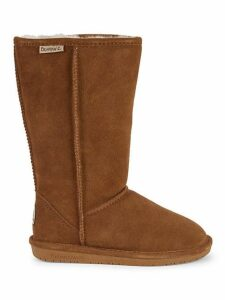 Emma Shearling Lined Suede Tall Boots