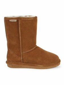 Emma Shearling Lined Suede Short Boots