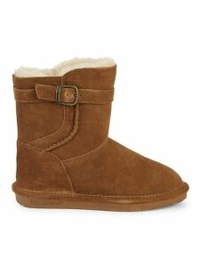 Catherine Shearling-Lined Suede Boots