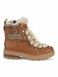 Gretchen Faux Fur-Trim Boots