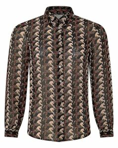 Monsoon Holly Horse Print Shirt