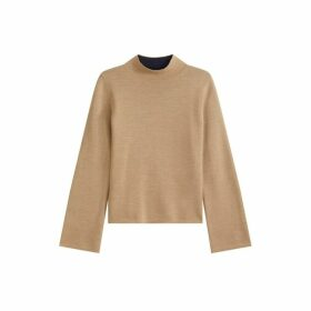 Jigsaw Double Faced Turtle Neck Jumper