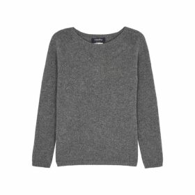 'S Max Mara Giorgi Grey Cashmere Jumper