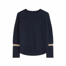 Jigsaw Cuff Stripe Jumper