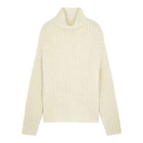 Birgitte Herskind Lina Ivory Chunky-knit Jumper