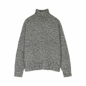THE ROW Pheliana Grey Cashmere Jumper