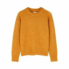 Samsøe & Samsøe Anour Orange Wool-blend Jumper