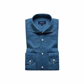 Eton Soft Lightweight Denim Shirt - Contemporary Fit