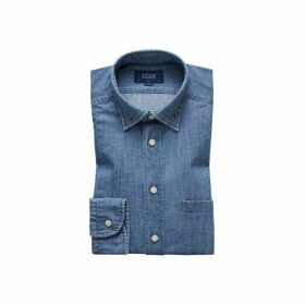 Eton Casual Denim Shirt - Slim Fit