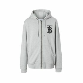 Burberry Monogram Motif Cotton Hooded Top