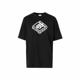 Burberry Logo Graphic Cotton T-shirt