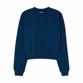 Cotton Citizen Milan Dark Blue Cotton Sweatshirt