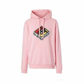 Burberry Logo Graphic Cotton Hoodie