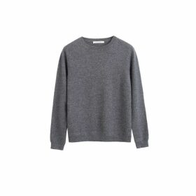 Chinti & Parker Grey Cashmere Crew Sweater