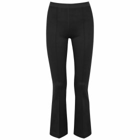 Equipment Slim Signature Black Silk Shirt