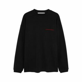 Alexander Wang Black Cotton Sweatshirt