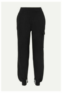 The Range - Cotton-blend Jersey Track Pants - Black