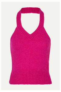 GAUGE81 - Bursa Knitted Halterneck Top - Fuchsia