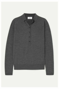 Allude - Wool Sweater - Gray