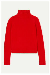 The Elder Statesman - Highland Cashmere Turtleneck Sweater - Red