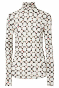 Isabel Marant - Joyela Printed Stretch-jersey Turtleneck Top - Ecru