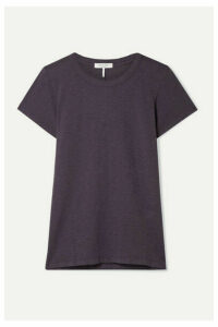 rag & bone - The Tee Pima Cotton-jersey T-shirt - Dark purple