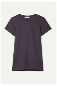 rag & bone - The Tee Pima Cotton-jersey T-shirt - Dark purple