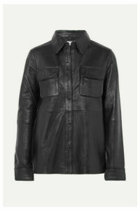 Stand Studio - Leather Shirt - Black